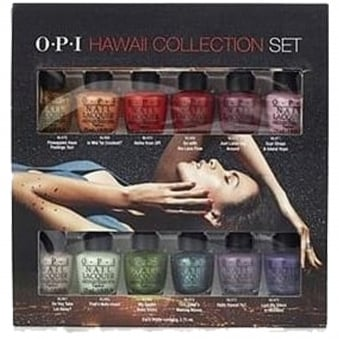 12 Piece Mini Hawaii Fashion Nail Polish Collection (12 X 3.75ML)