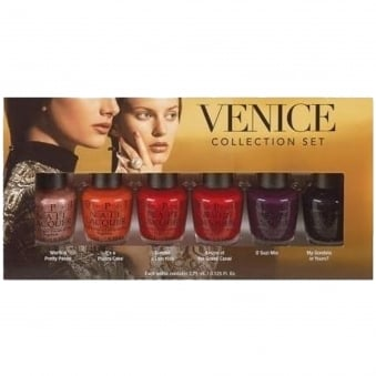 2015 Mini Nail Polish Collection - Venice Bottom Set (6x3.75ml)