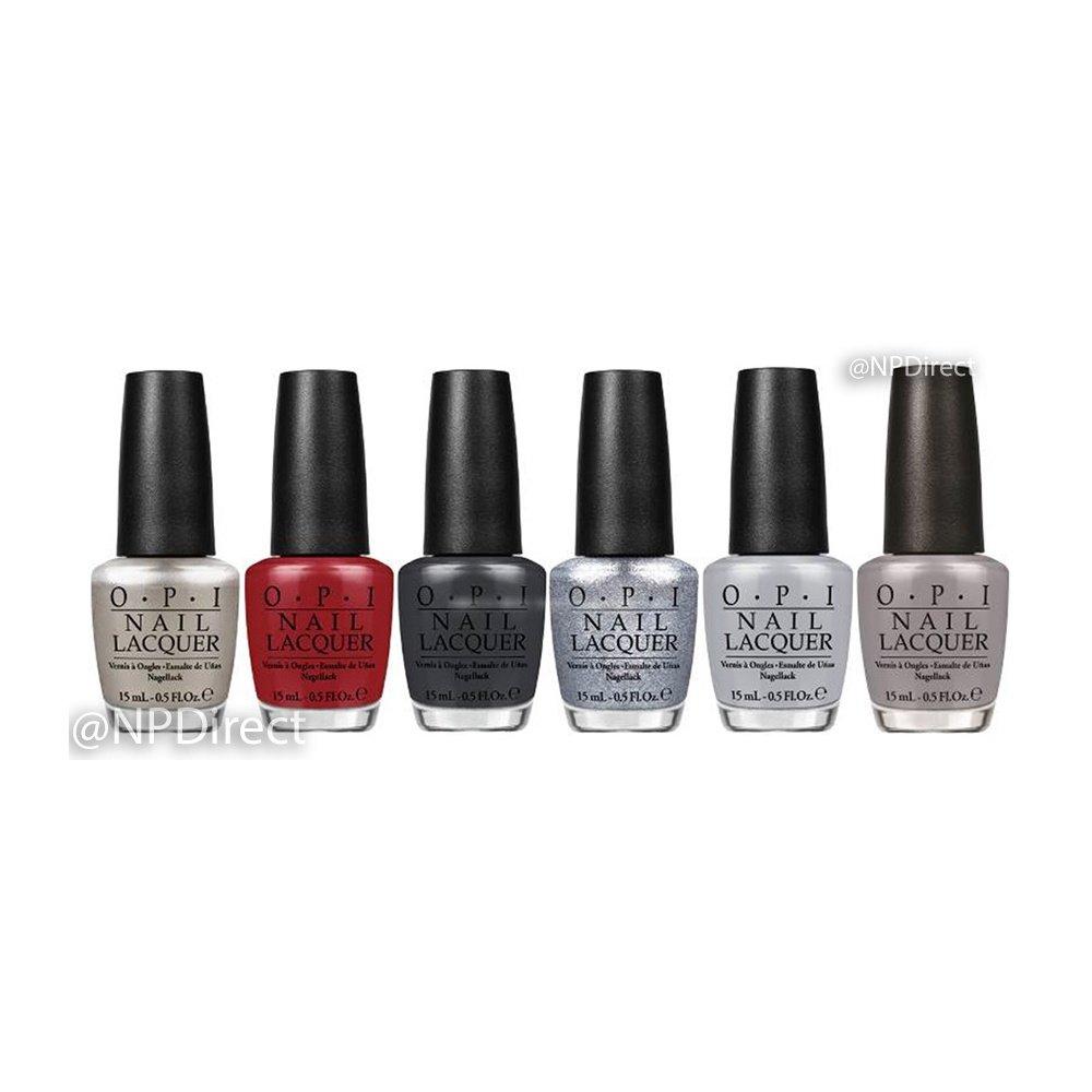 OPI 50 Shades Of Grey 2015 Nail Polish Collection