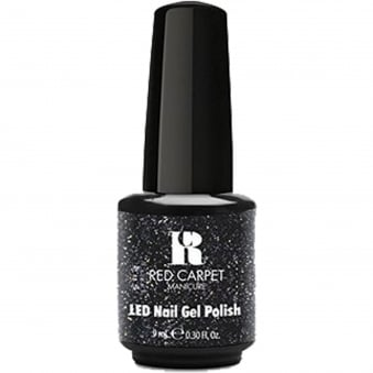 A Touch Of Bling LED Nail Polish Collection - Black Tie Affair 9ml