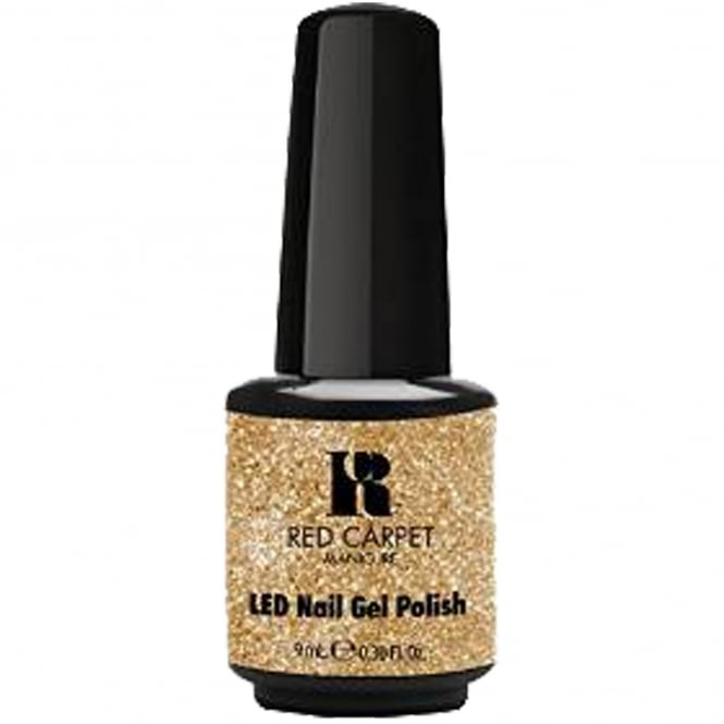 Red Carpet Manicure Gel A Touch Of Bling LED Nail Polish Collection - Ill Toast To That 9ml