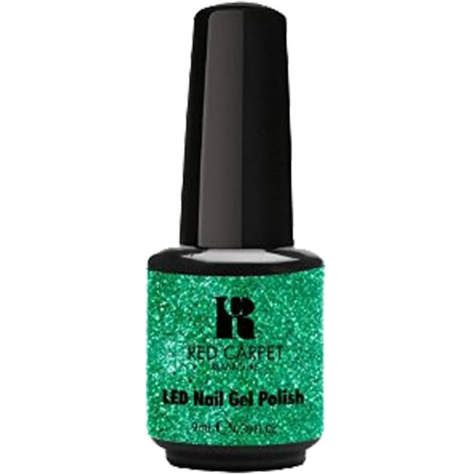 Red Carpet Manicure Gel A Touch Of Bling LED Nail Polish Collection - Looking Like A Million 9ml