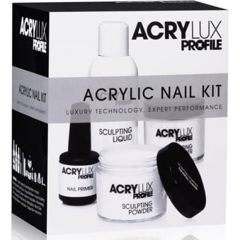 Acrylux Profile Luxury Professional Acrylic Powder & Liquid Kit (16 Piece) (0212790)