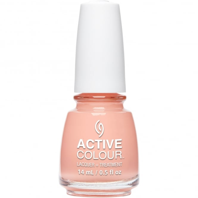 China Glaze Active Colour Nail Polish & Treatment Collection 2016 - Made For Peach Other 14ml