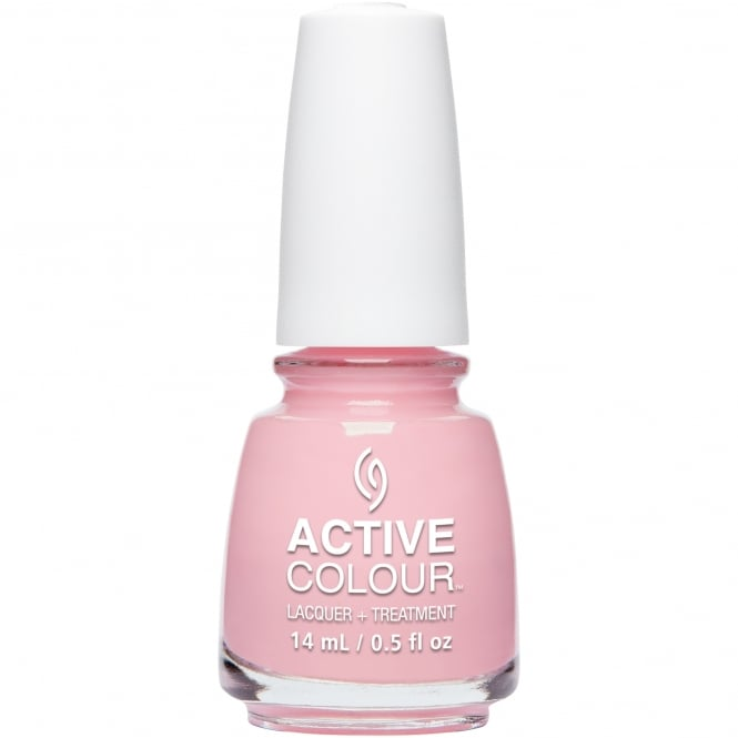 China Glaze Active Colour Nail Polish & Treatment Collection 2016 - Preserve In Pink 14ml