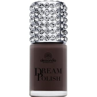 Luxury Dream Nail Polish with Diamond Powder - CafÌÎå© Au Lait 15mL