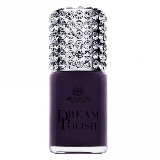Alessandro Luxury Dream Nail Polish with Diamond Powder - Purple Pleasure 15mL (08552)