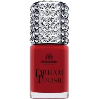Luxury Dream Nail Polish with Diamond Powder - Red Diva 15mL