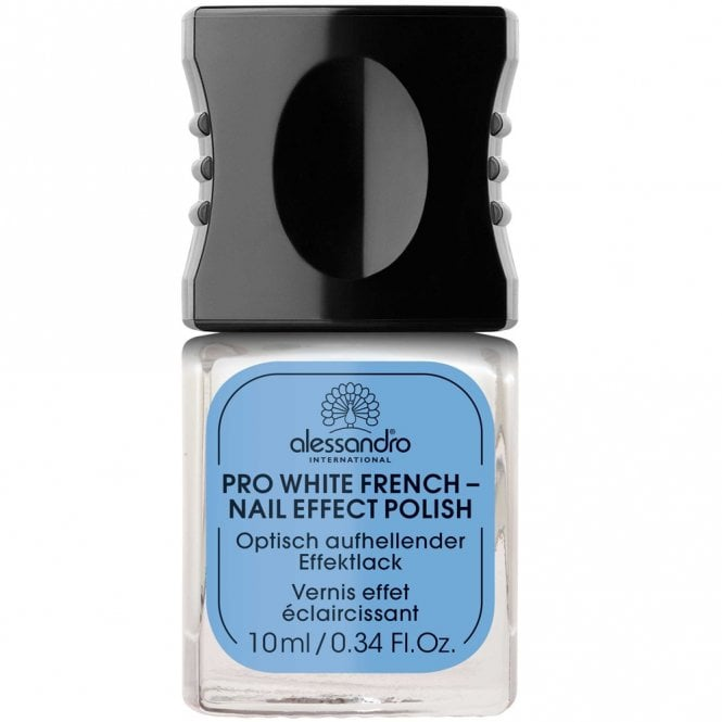 Alessandro Professional Manicure - Pro White French Nail Effect Polish 10mL