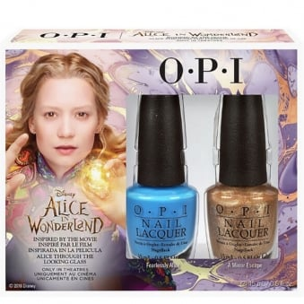 Alice In Wonderland 2016 Nail Polish Collection Duo - Fearlessly Alice & Mirror Escape (2 x 15ml)
