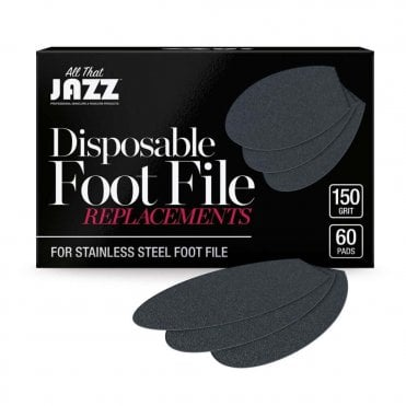 Disposable Foot File Replacements - 150 Grit (60 Pieces)