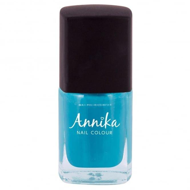 Blue Nail Varnish Uk: Annika Glossy Finish Nail Polish