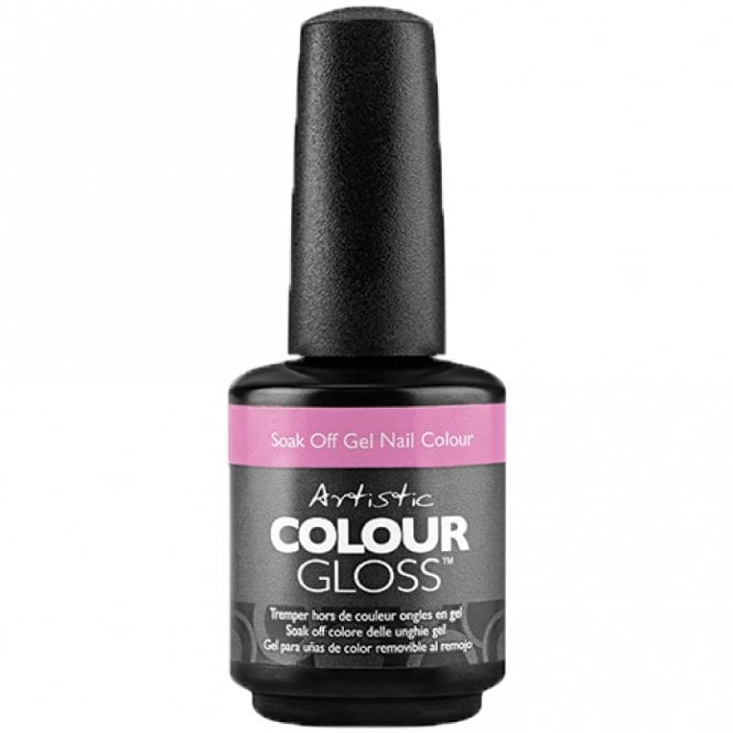 Artistic Colour Gloss A New Skate Of Mind 2017 Gel Nail Polish Collection - Gnarly In Pink (2100096) 15ml