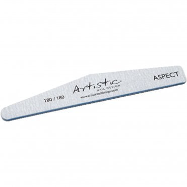 Nail Design 180/180 Grit Nail File - Aspect (03307)