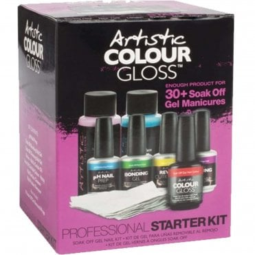 Professional Gel Starter Kit - 8-Piece Set (03420)