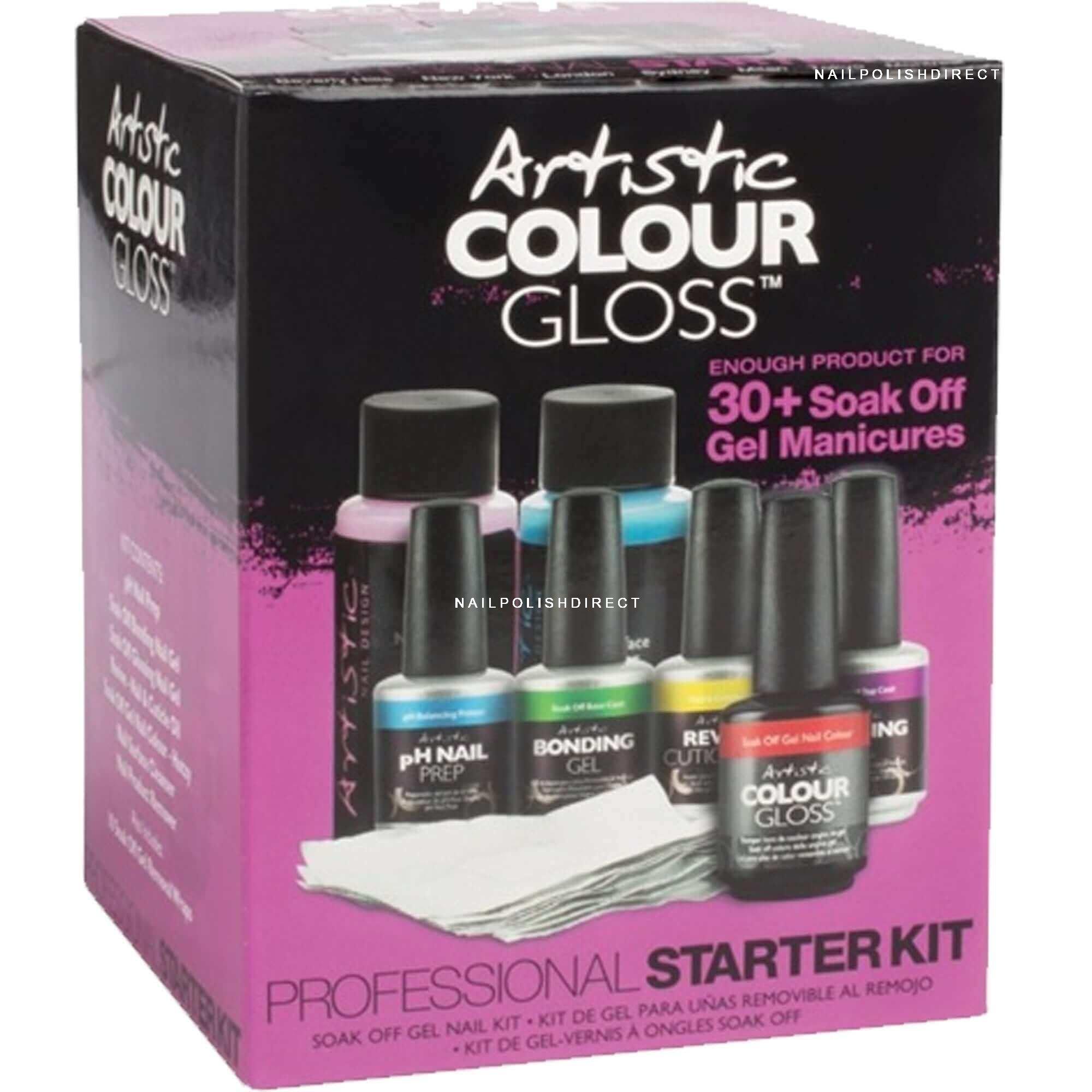 Artistic Professional Gel Starter Kit - 8-Piece Set (03420)