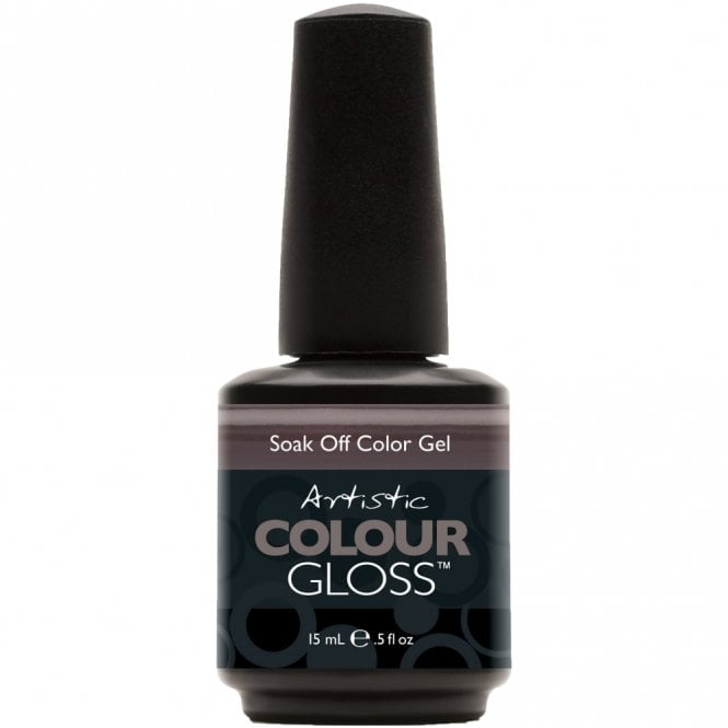 Artistic Colour Gloss Soak Off Gel Nail Polish - All The Rage 15mL (03018)