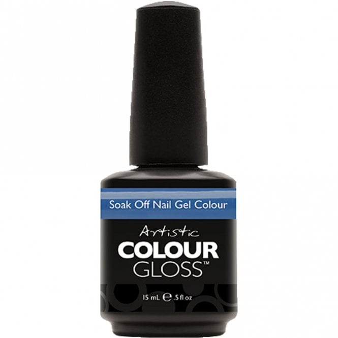 Artistic Colour Gloss Soak Off Gel Nail Polish - Budding Fixation 15mL (03163)