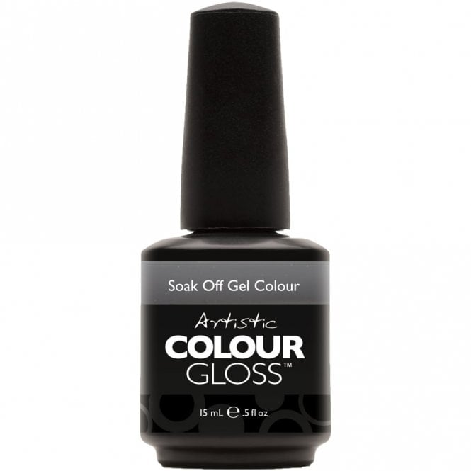 Artistic Colour Gloss Soak Off Gel Nail Polish - Confidence 15mL (03148)
