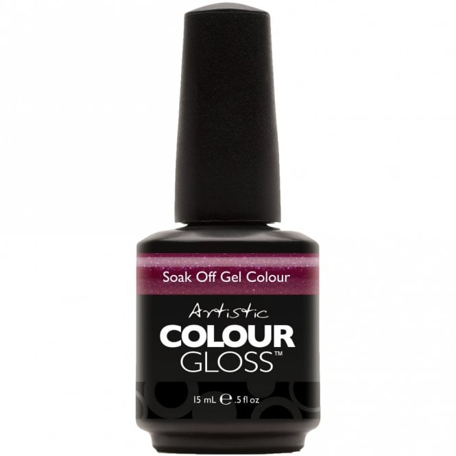 Artistic Colour Gloss Soak Off Gel Nail Polish - Crazed 15mL (03057)