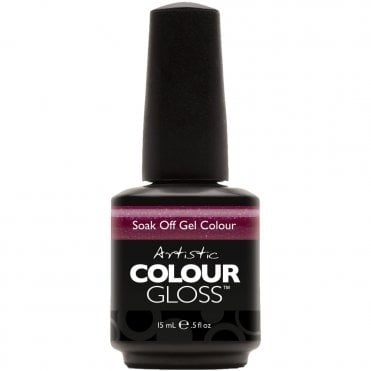 Soak Off Gel Nail Polish - Crazed 15mL (03057)
