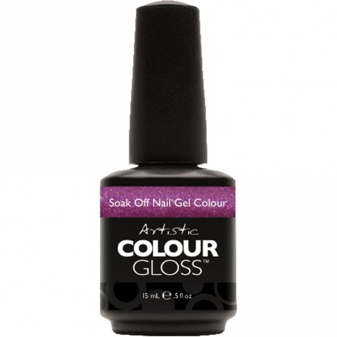 Artistic Colour Gloss Soak Off Gel Nail Polish - Desired 15mL (03129)