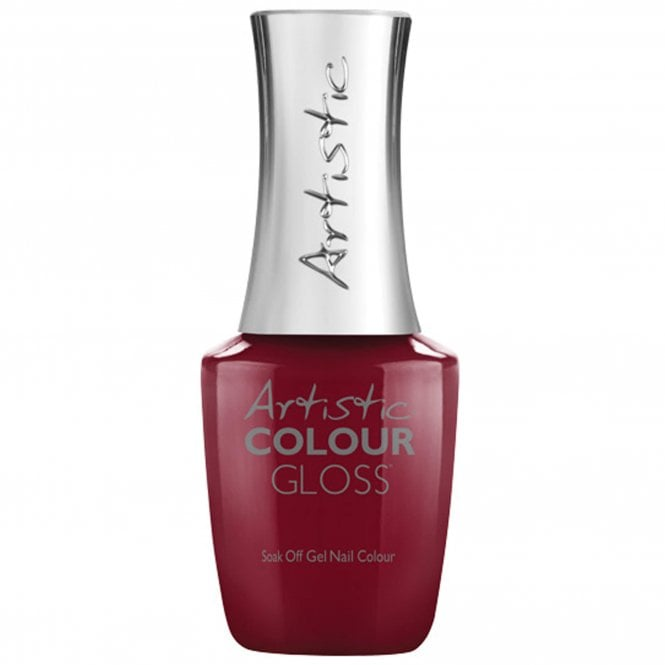 Artistic Colour Gloss Soak Off Gel Nail Polish - Foxy 15mL (03009)