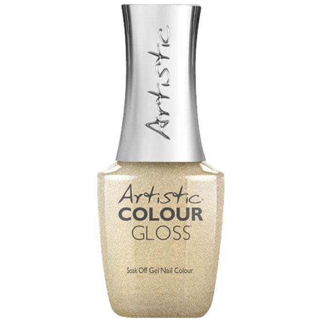 Artistic Colour Gloss Soak Off Gel Nail Polish - Gorgeous 15mL (03124)
