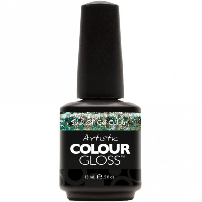 Artistic Colour Gloss Soak Off Gel Nail Polish - Greed 15mL (03155)