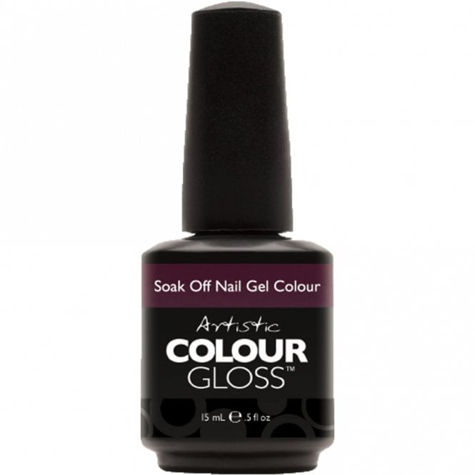 Artistic Colour Gloss Soak Off Gel Nail Polish - Intriguing 15mL (03121)