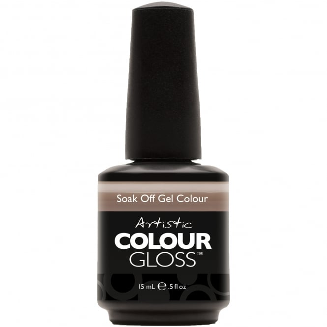 Artistic Colour Gloss Soak Off Gel Nail Polish - Java Java 15mL (03042)