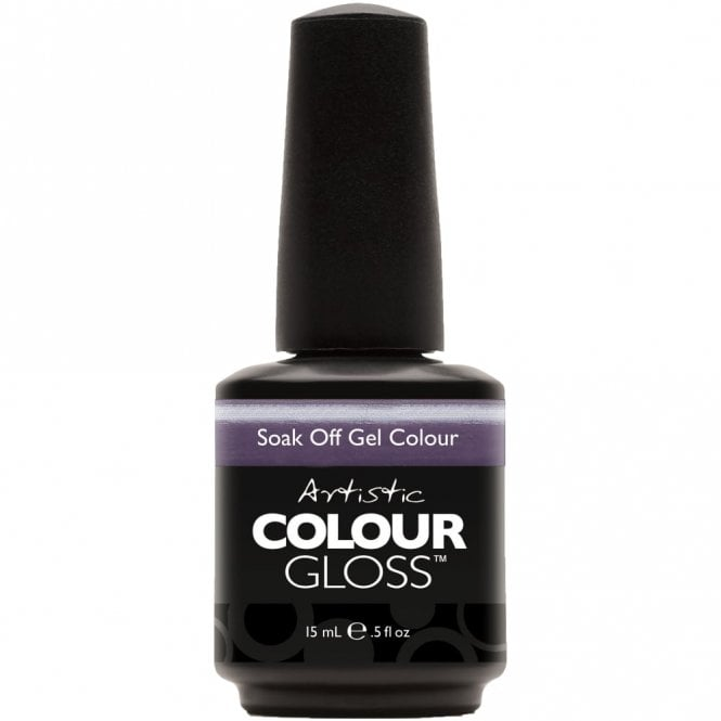 Artistic Colour Gloss Soak Off Gel Nail Polish - Lavender Sunset 15mL (03077)