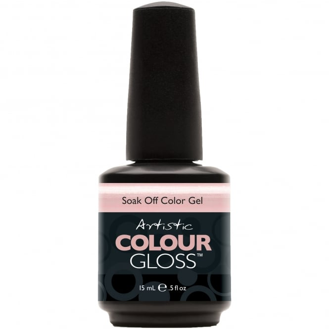 Artistic Colour Gloss Soak Off Gel Nail Polish - Lovely 15mL (03027)
