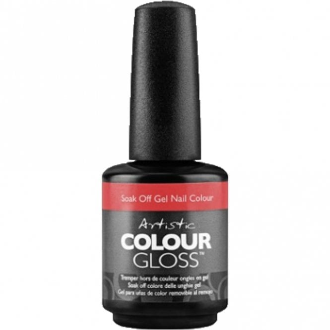 Artistic Colour Gloss Soak Off Gel Nail Polish - Mischief Is My Middle Name 15ml (2100047)