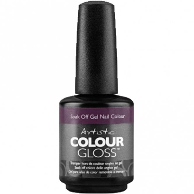 Artistic Colour Gloss Soak Off Gel Nail Polish - No If's,And's Or Buttons 15ml (2100031)