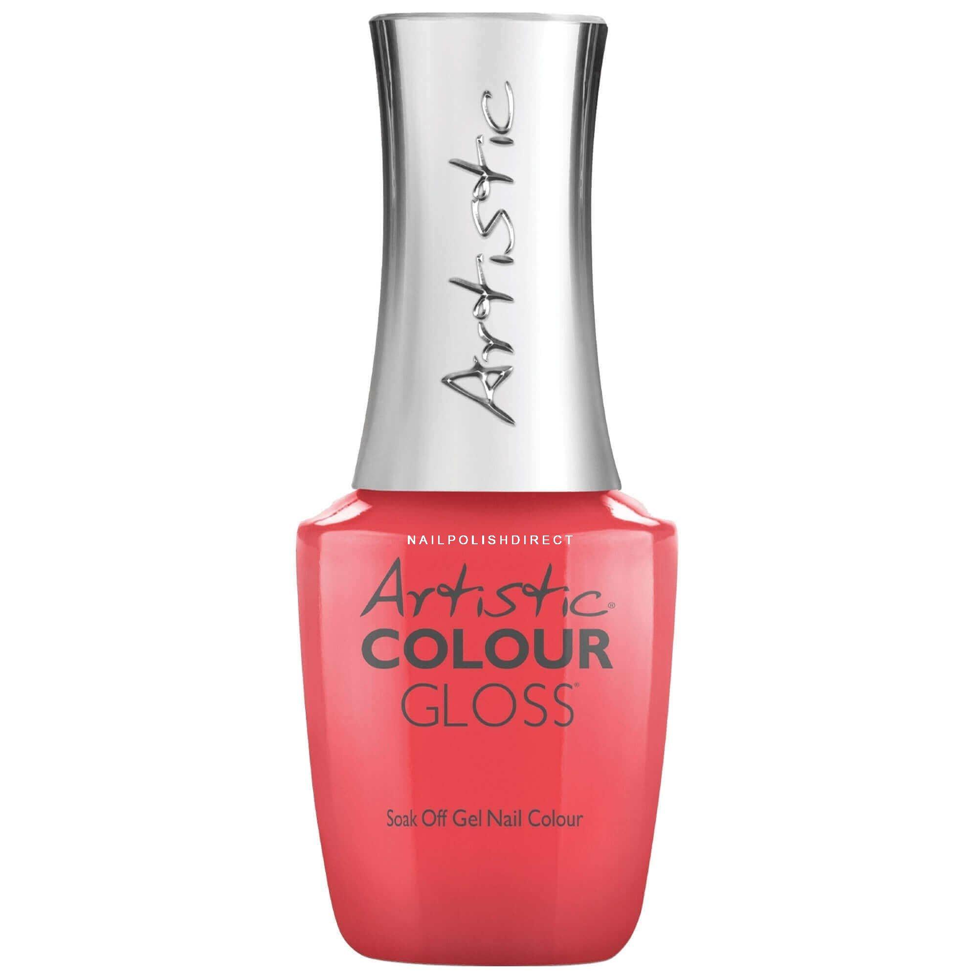 Artistic Colour Gloss Soak Off Gel Nail Polish - Owned 15mL (03063)