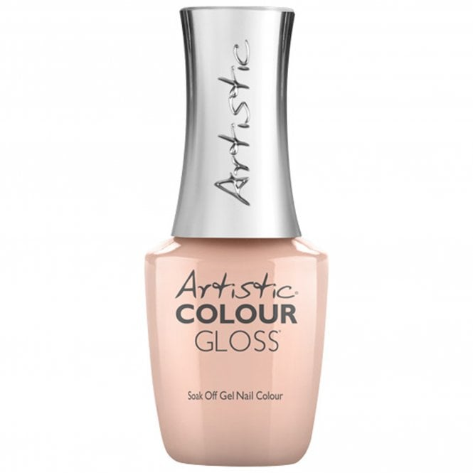 Artistic Colour Gloss Soak Off Gel Nail Polish - Peach Whip 15mL (03046)