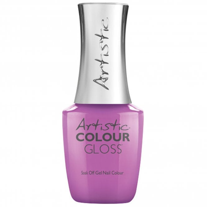 Artistic Colour Gloss Soak Off Gel Nail Polish - Petal To The Metal 15mL (03164)
