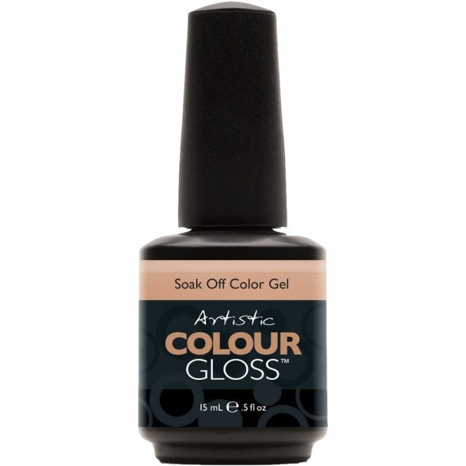 Artistic Colour Gloss Soak Off Gel Nail Polish - Seductive 15mL (03026)