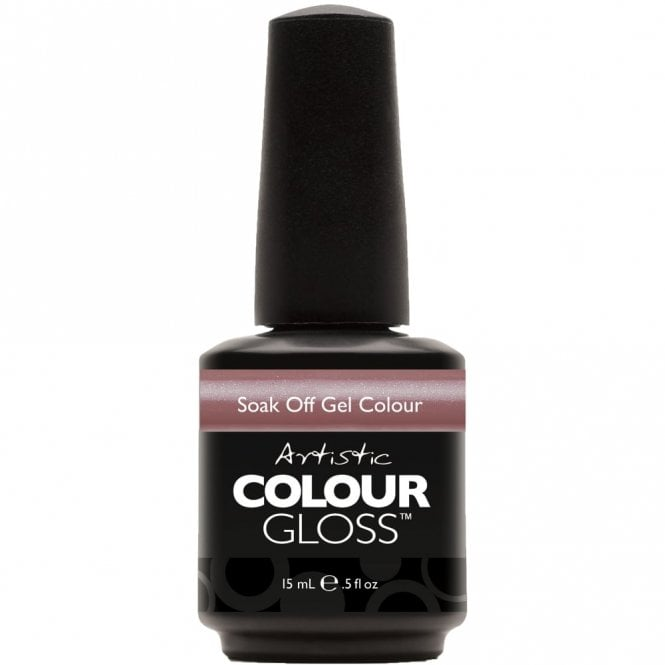 Artistic Colour Gloss Soak Off Gel Nail Polish - Silk Petal 15mL (03083)