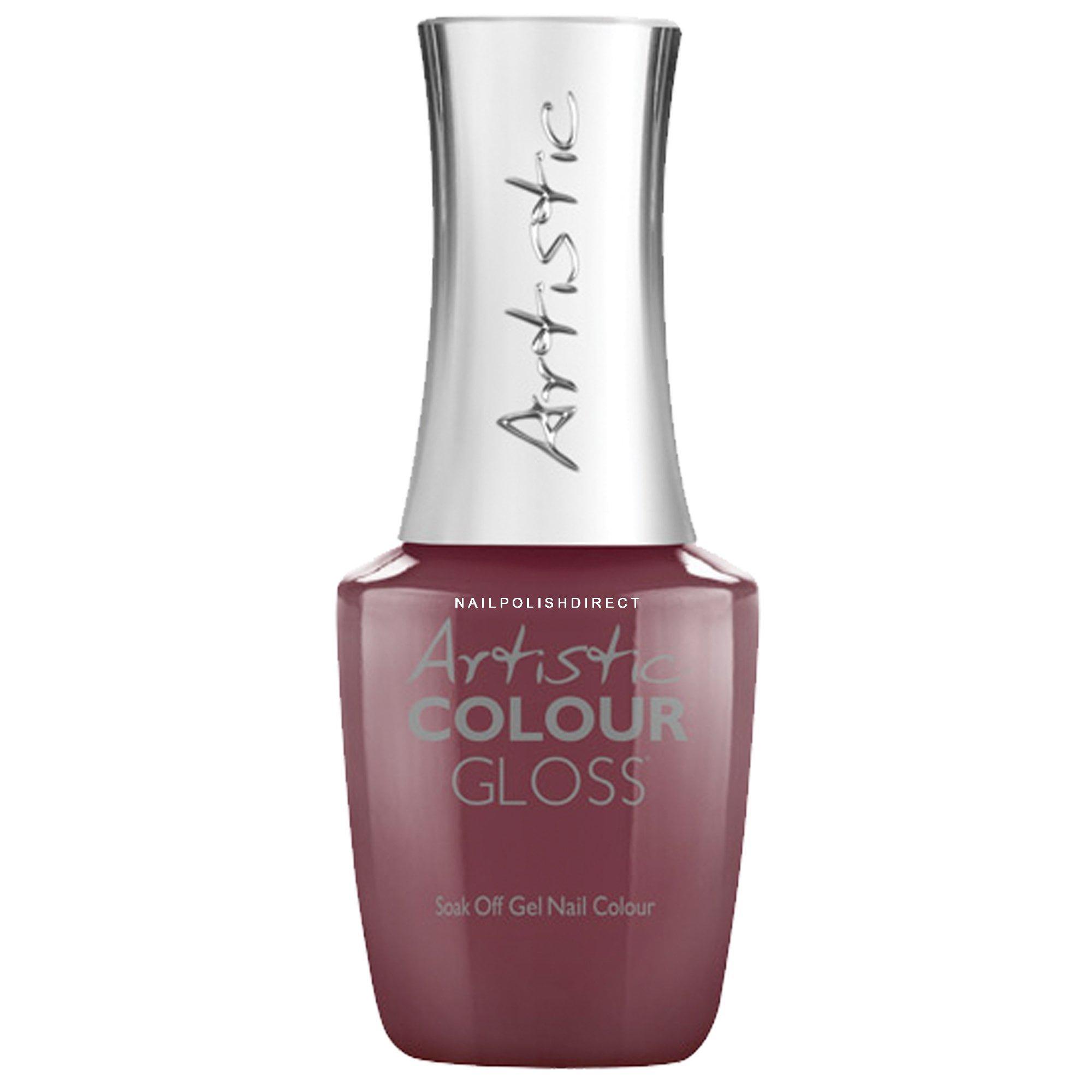 Gel Nail Polish Uk: Artistic Colour Gloss Soak Off Gel Nail Polish