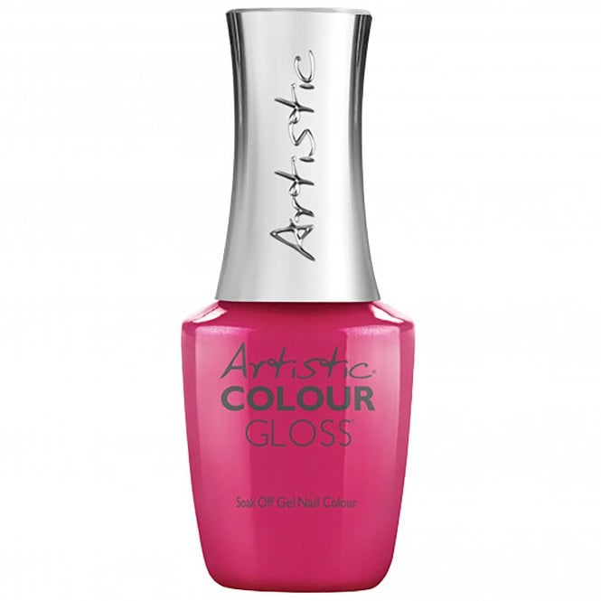 Artistic Colour Gloss Soak Off Gel Nail Polish - V.I.Pink Room 15mL (03086)