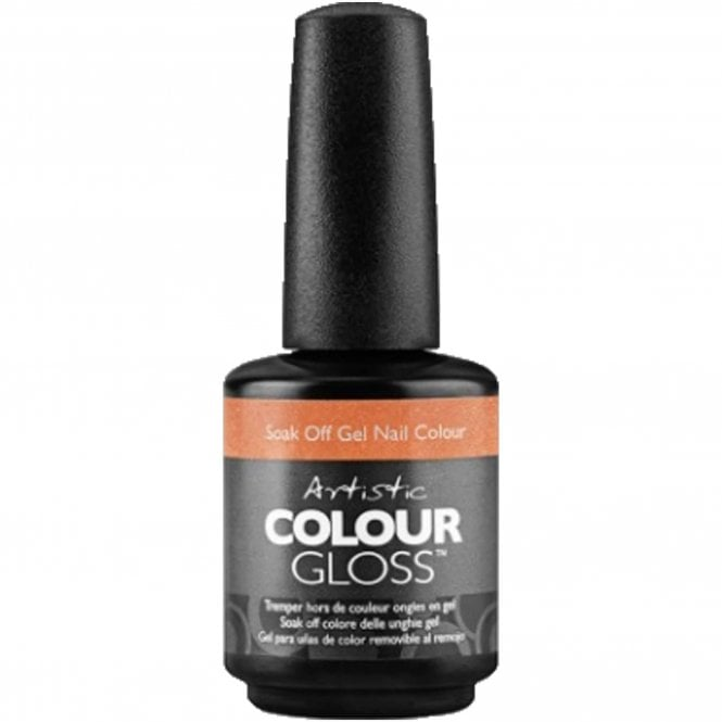 Artistic Colour Gloss Soak Off Gel Nail Polish - You're Not Glistening To Me 15ml (2100049)