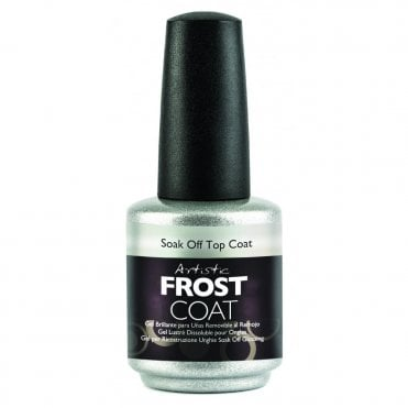 Soak Off Gel Nail Satin Top Coat Collection 2016 - Frost Coat 15ml