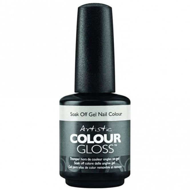 Artistic Colour Gloss Soak Off Wedding Gel Nail Polish Collection 2016 - Covered In Lace 15ml (2100010)