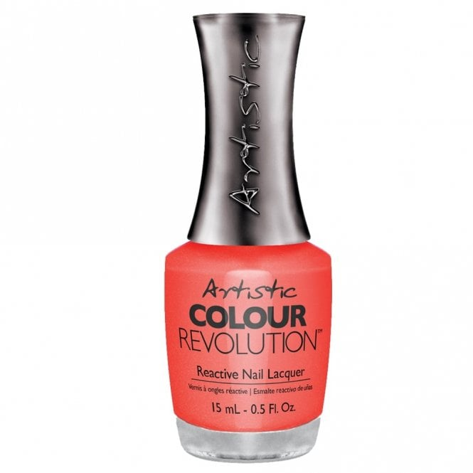 Artistic Colour Revolution Professional Reactive Hybrid Nail Lacquers - Haute Cout-Orange 15ml (2303087)