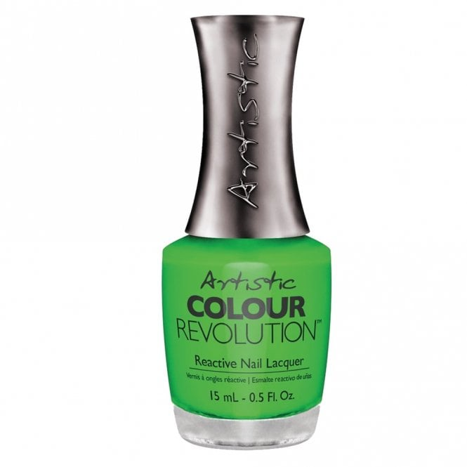 Artistic Colour Revolution Professional Reactive Hybrid Nail Lacquers - Toxic 15ml (2303066)