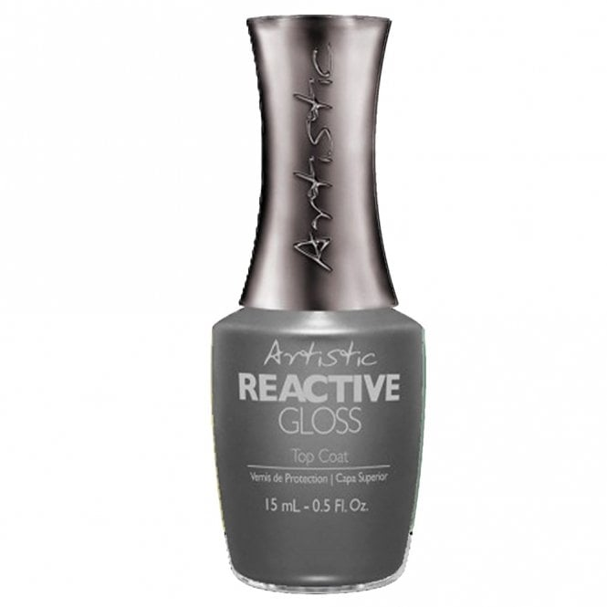 Artistic Colour Revolution Professional Reactive Hybrid Nail Treatment - Reactive Gloss Top Coat 15 ml
