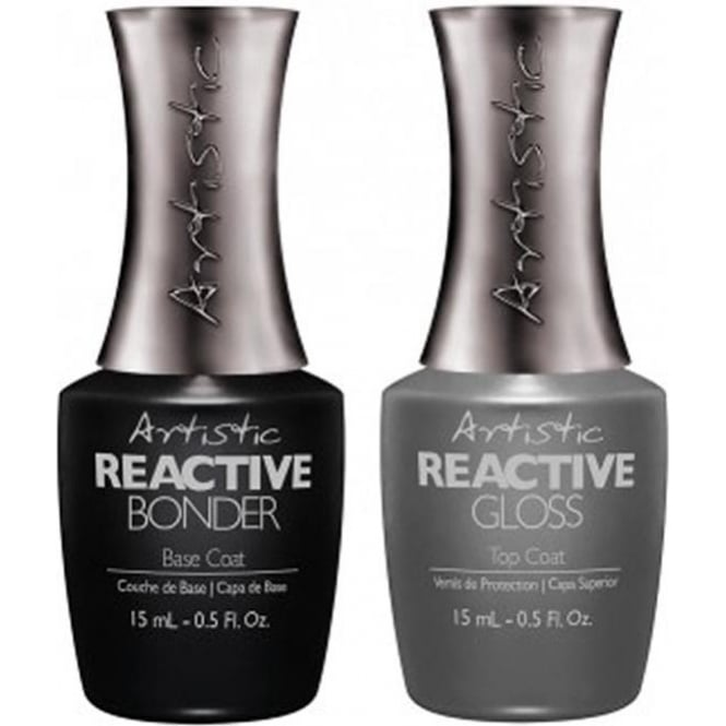 Artistic Colour Revolution Professional Reactive Hybrid Nail Treatment - Revolution Essentials Duo 2 x 15 ml