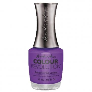 Retro Redux Collection Reactive Nail Lacquer - Pin Up Purple 15ml (2300021)